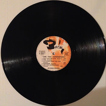 jimi hendrix collector vinyls lp/ are you experienced france 1967