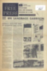 jimi hendrix newspaper/los angeles free press 29/9/67