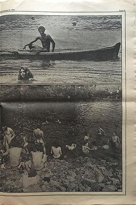 jimi hendrix newspaper 1969/ rolling stone part 6 /woodstock 1969