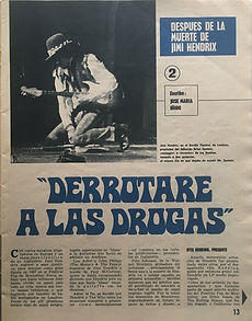 jimi hendrix magazines 1970 death / joven : november 7, 1970 / part 2
