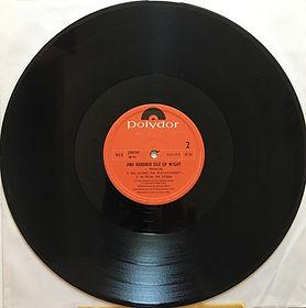 jimi hendrix vinyl album LPs/side 2: isle of wight norway 1971
