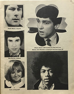 jimi hendrix magazine/rave january 1968