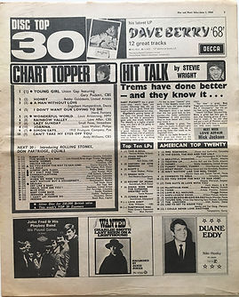 jimi hendrix newspaper collector/disc music echo june 1 1968