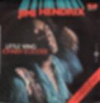 jimi hendrix single vinyl/little wing johnny b.goode italy