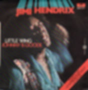 jimi hendrix single vinyl/little wing johnny b.goode italy