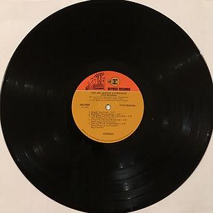 jimi hendrix vinyl album/side 2 /otid redding/jimi hendrix experience 1970