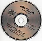 jimi hendrix bootlegs cds 1969/  auld lang syne  vol:2