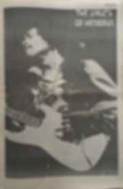 jimi hendrix newspaper 1969/changes july 1 1969