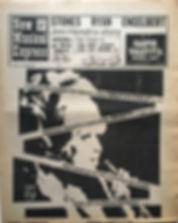 jimi hendrix newspaper 1968 /new musical express november 23 1968