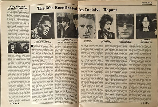 jimi hendrix magazines 1970 /circus  february, 1970