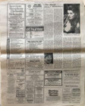 BLACK ELVIS new york times 25/2/68 jimi hendrix newspaper