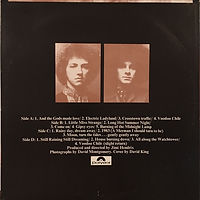 jimi hendrix collector/electric ladyland reissue 1977 south africa