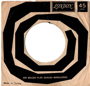jimi hendrix colector singles vinyls 45t /cover hush now flashing turkey 1967
