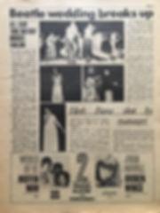 jimi hendrix newspaper/go july 12 1968/all star soul together