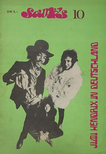 jimi hendrix magazines 1969/ sounds number 10