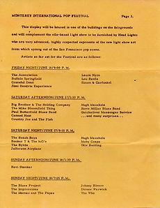 hendrix rotily memorabilia collector/monterey pop press kit 16/17/18/6/67
