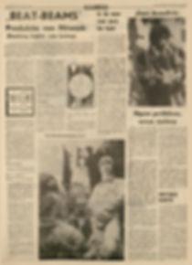 jimi hendrix newspapers 1967/leeuwarder courant march 25, 1967