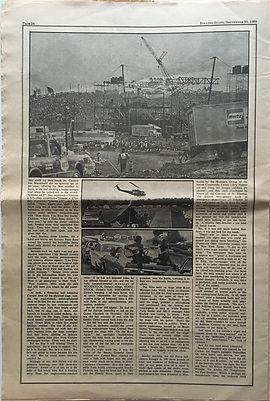 jimi hendrix newspapers 1969 / part 8 rolling stone  sept 20 1969 woodstock