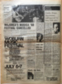 jimi hendrix newspaper/melody maker/29/6/68