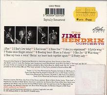 jimi hendrix collector cd / the jimi hendrix concerts 1993