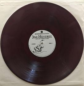 jimi hendrix bootleg vinyl album/ side c : live & unrealeased part 3