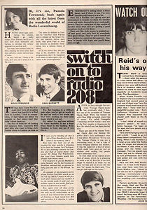 jimi hendrix magazine 1968/fabulous 208 /november 23 1968