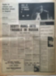 jimi hendrix newspapers/melody maker july 13 1968/what an experience at woburn