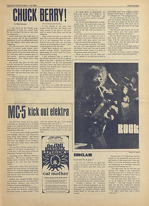 jimi hendrix newspaper 1969/ the fifth estate may 1969