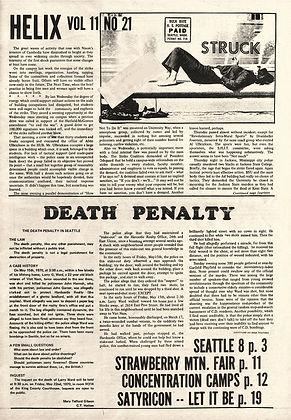 jimi hendrix newspapers 1970 / helix  may 21, 1970,