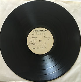 side a/ rainbow bridge test pressing france 22/10/1971 jimi hendrix vinyls album