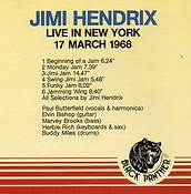 jimi hendrix cd bootlegs/live in new york
