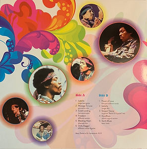 jimi hendrix bootlegs vinyls album / diggin' in the dust