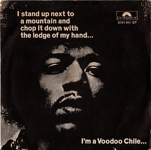 jimi hendrix collector vinyls/EP/maxi singles/voodoo chile/hey joe/watchtower/1970 italy