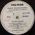 jimi hendrix rotily vinyls/promo electric ladyland brazil