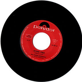 jimi hendrix rotily vinyls singles