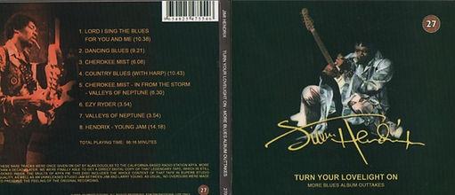 jimi hendrix bootlegs cds1969 / turn your lovelight on