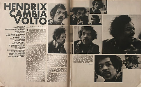 jimi hendrix magazines 1970 /ciao 2001 /may 13, 1970