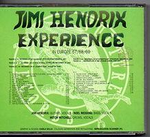 jimi hendrix bootleg cd 2cd/in europe 67/68/69