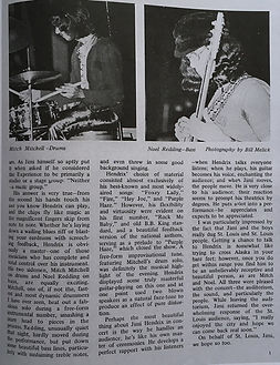 jimi hendrix magazine /discoscene january 1969