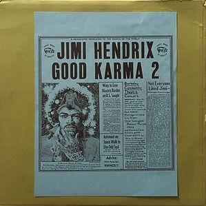 jimi hendrix bootlegs vinyls 1970 / good karma 2  tmoq 1973