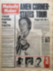 jimi hendrix newsaper 1969/ melody maker february 22 1969/hendrix part one : jimi in 3 d