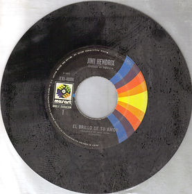 jimi hendrix single vinyl/ side 1 sunshine of your love mexico