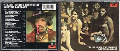 jimi hendrix cd /electric ladyland