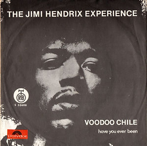 jimi hendrix collector single/vinyls/voodoo chile/have you ever been 1970 yougoslavia