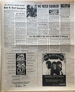jimi hendrix newspaper 1969/new musical express may 31 1969