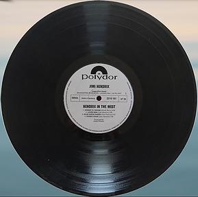 jimi hendrix vinyl album /side 1 : in the west promotion germany