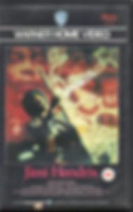 jimi hendrix film/ vhs 1986