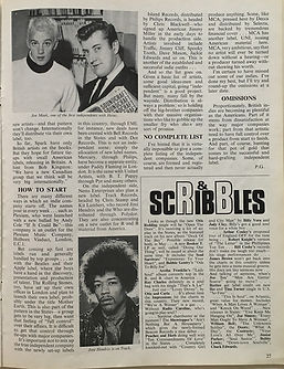 jimi hendrix magazines/beat instrumental april 1968