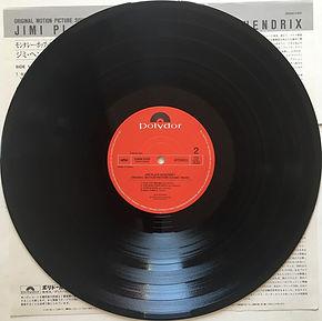 jimi hendrix vinyls collector/ jimi plays monterey   / side 2 : japan