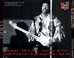jimi hendrix bootleg cd 1969 / cologne 01/13/69